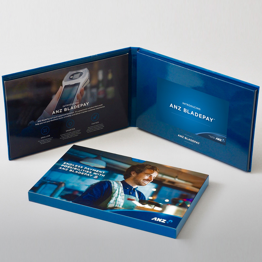 ANZ Bank video brochure gallery