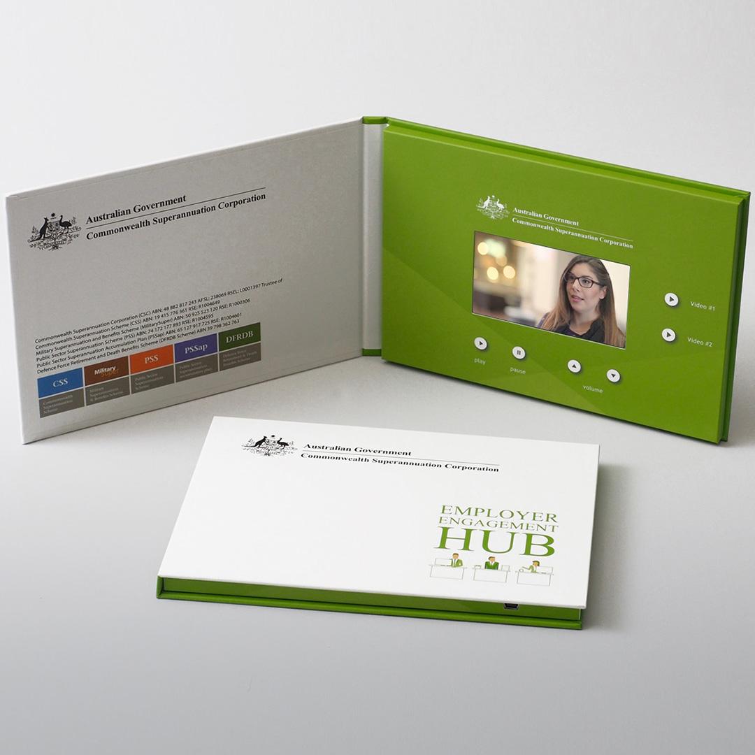 Australian Government video brochure galleries