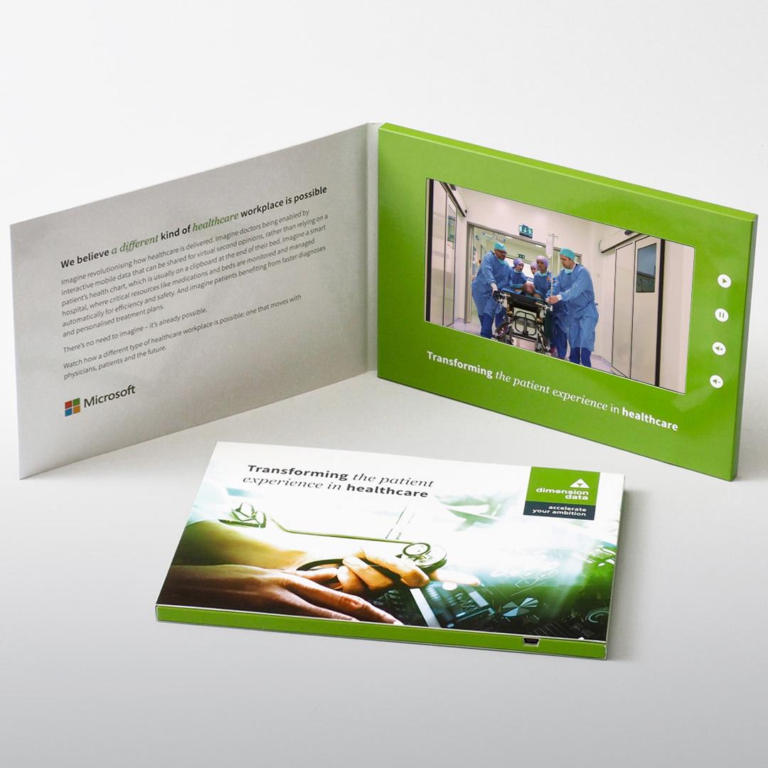 Dimension Data video brochure galleries