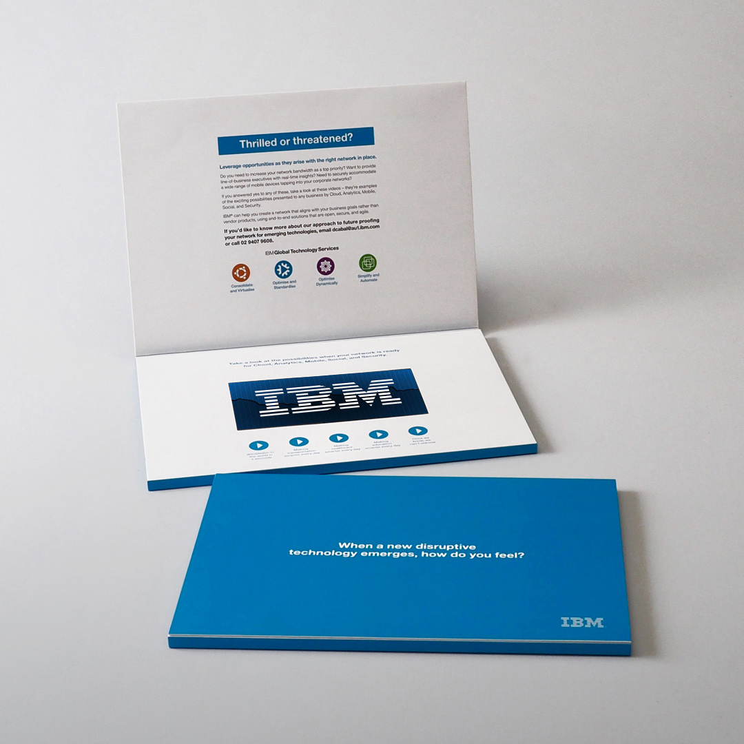 IBM video brochure gallery