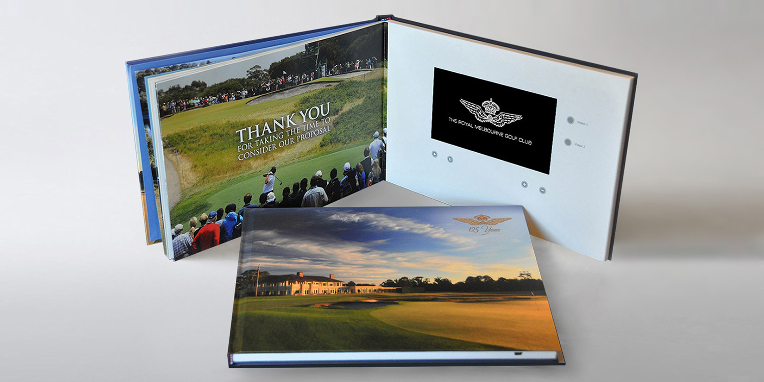 Royal Melbourne Golf Club video brochure gallery