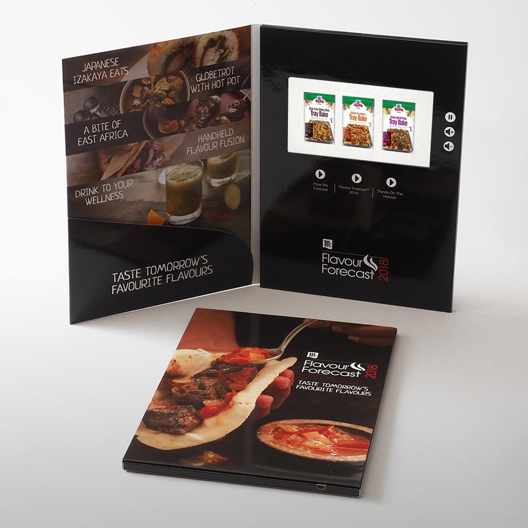 Video Brochures - A4 7 IPS