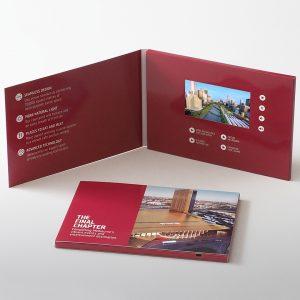 Video Brochures - A5 4-3