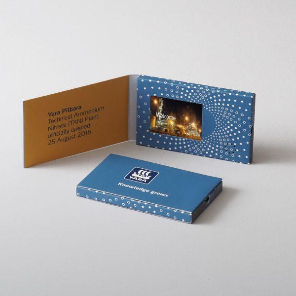 Video Brochures - Business Card