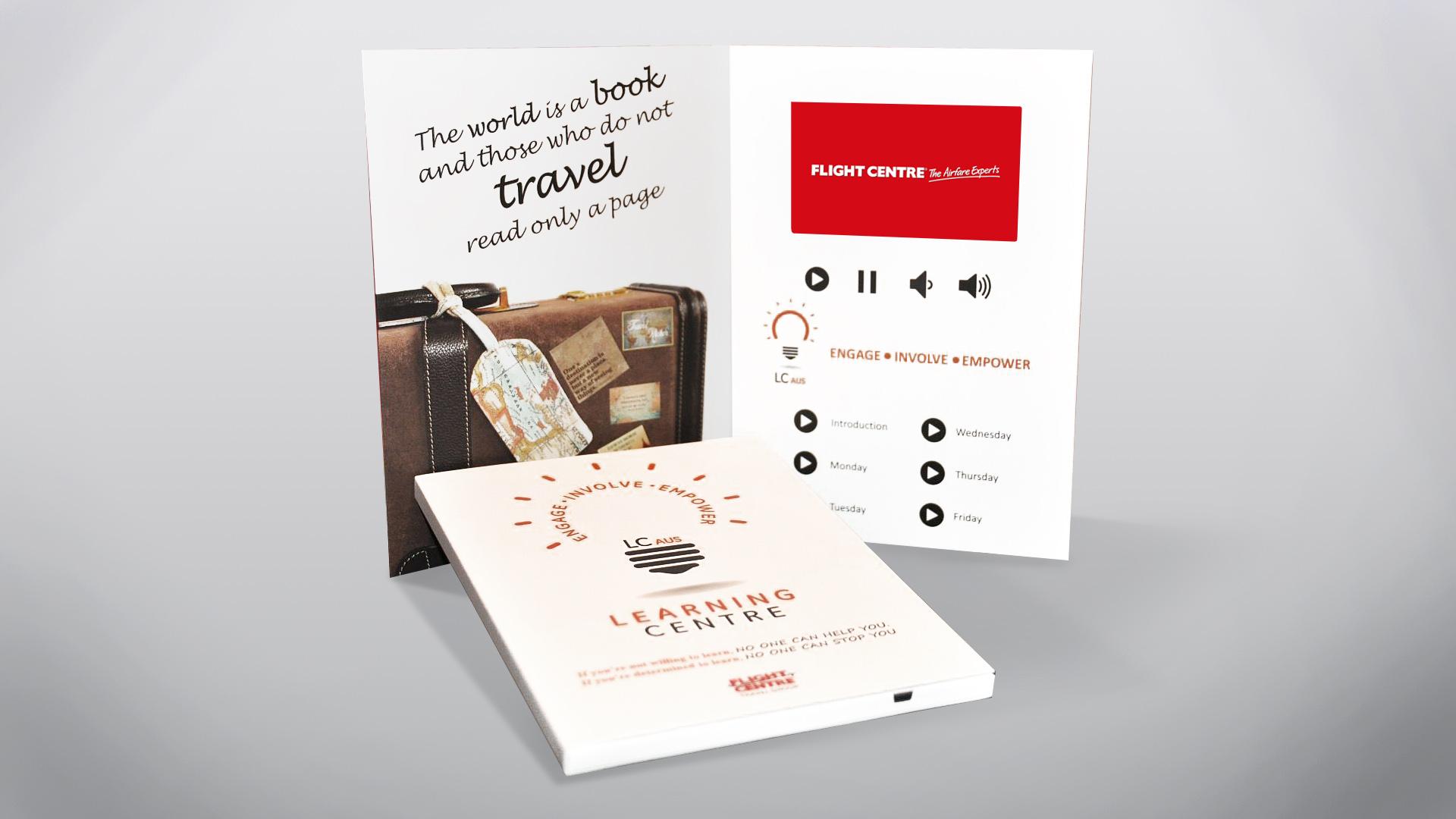 Flight Center Video Brochure