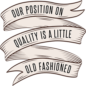 OLD FASHIONED BANNER