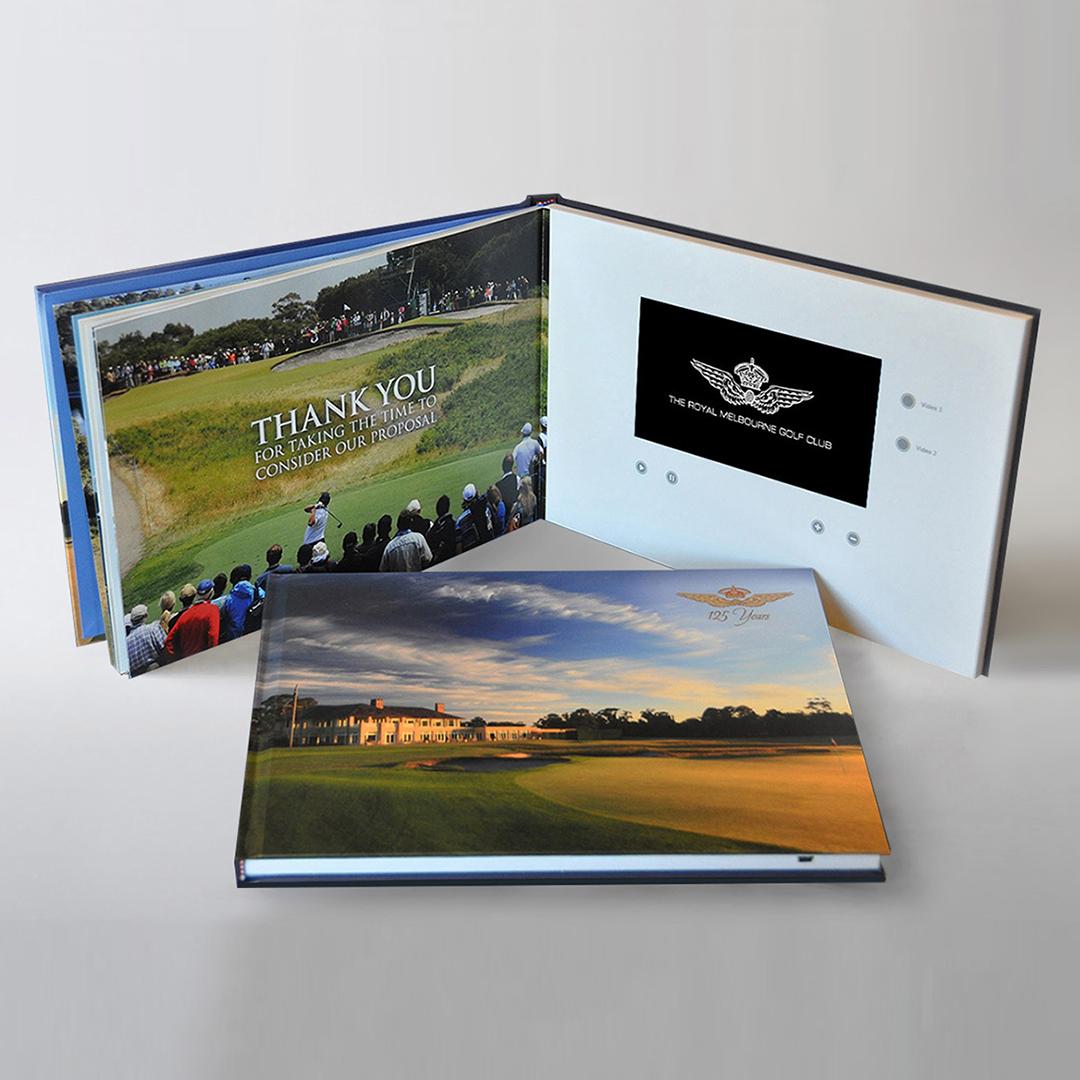 Royal Melbourne Golf Club Video Book