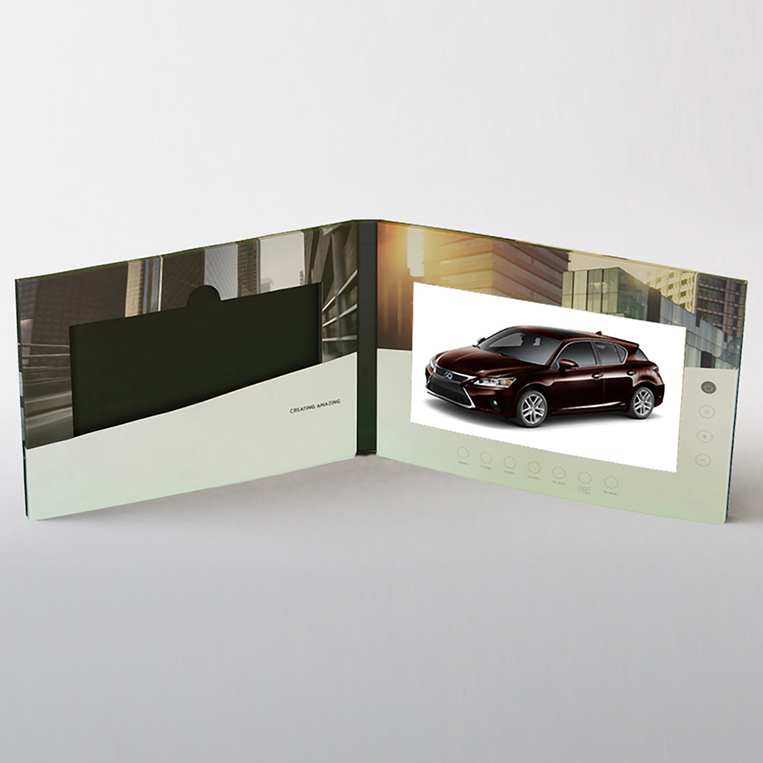 Extra Large Screen Video Brochure