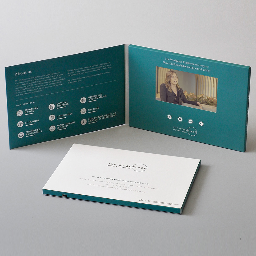 Medium Screen Video Brochure