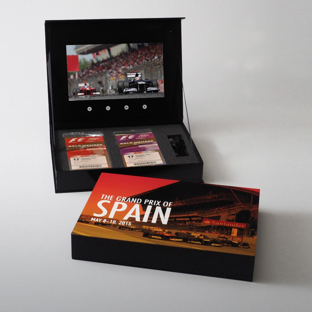 Spain Grand Prix Presentation Box