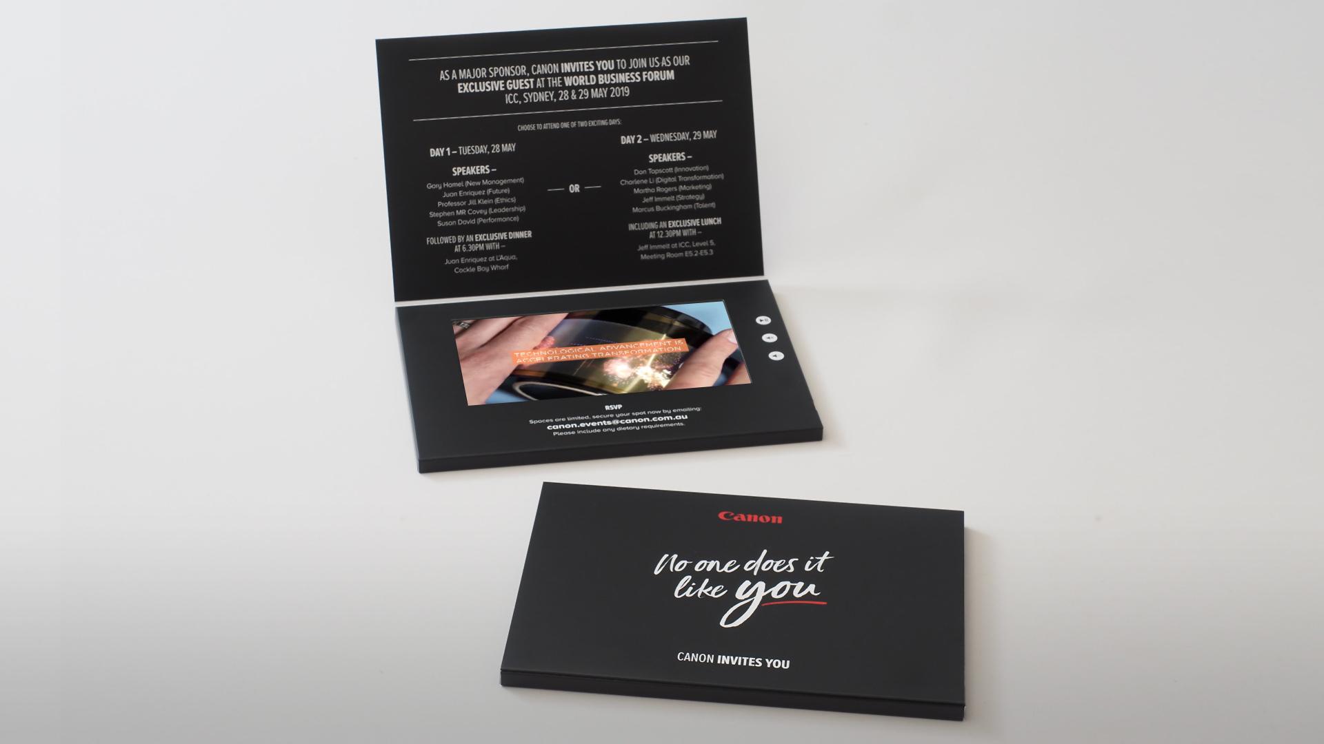 Canon Brochure - Razor Video Brochures