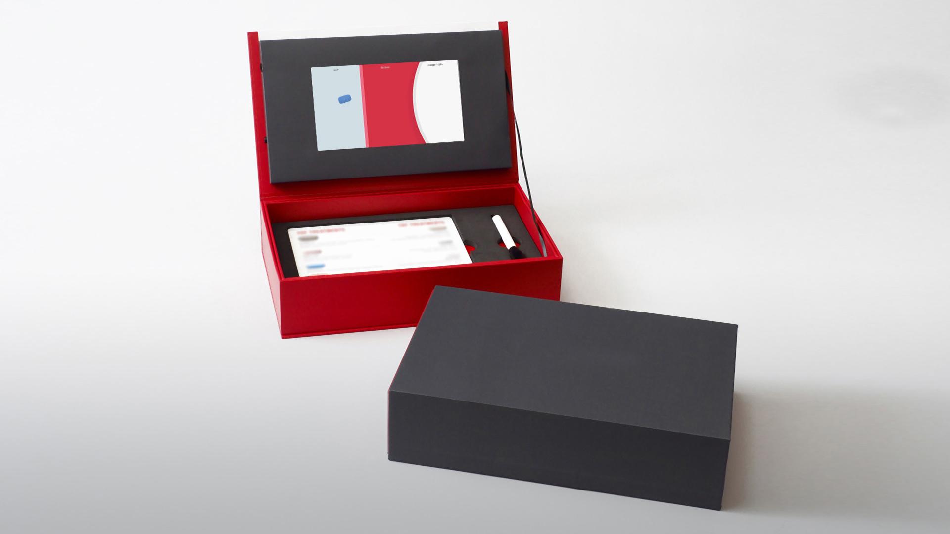 Gilead Box - Razor Video Brochures
