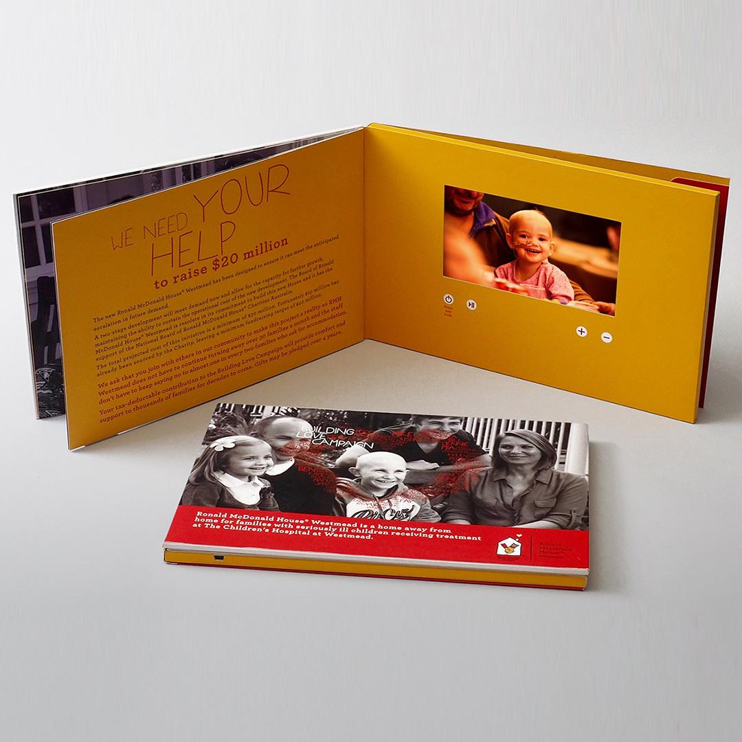 Ronald McDonald House Video Booklet