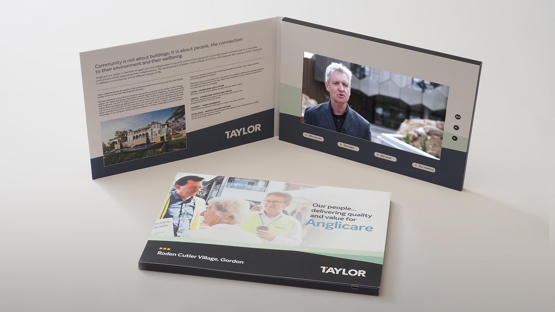 Taylor - Razor Video Brochures