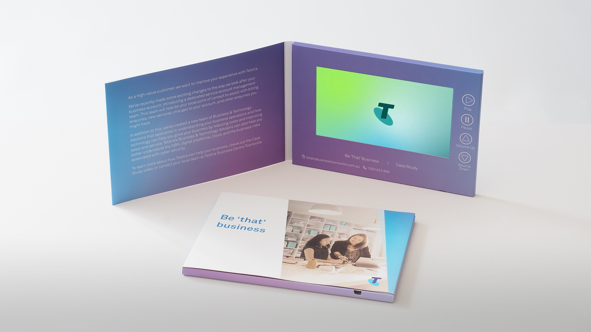 Telstra - Razor Video Brochures