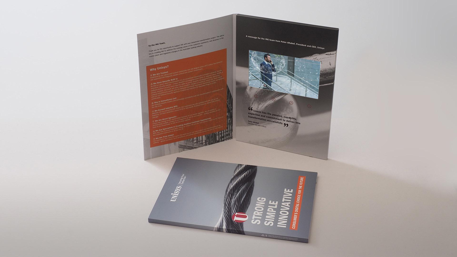 Unisys - Razor Video Brochures